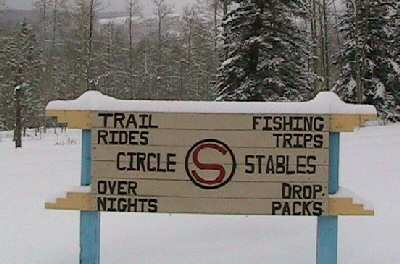 Winter at Circle S Riding Stables